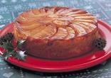 カラメルアップルケーキ