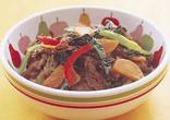 カラフル牛丼