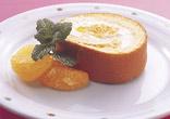 伊予柑のロールケーキ