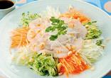 貝柱の中華サラダ