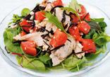 鶏肉と豆腐のサラダ