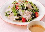 豚肉の薬味サラダ