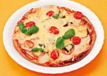 生ハムのクリーミーピザ