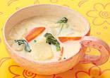 ホワイトみそスープ
