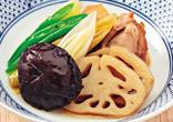 鶏肉とれんこんの煮物