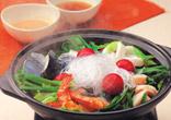 海鮮エスニック蒸し鍋