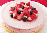 ジャムムースケーキ