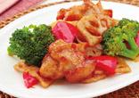 鶏肉とれんこんの甘酢炒め