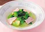 チンゲン菜のスープ煮