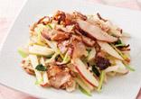 ひね酢と細切りポテトのサラダ