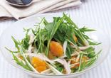 みかんと水菜のサラダ