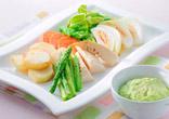 春野菜のごまドレディップ
