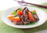 牛肉とにんじんの炒め煮