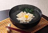 菊花豆腐のお吸い物