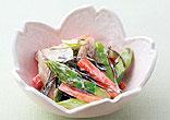 春野菜のヨーグルト漬け