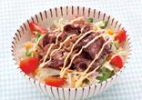 焼き肉サラダ丼
