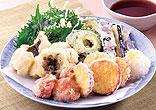 はもと夏野菜の天ぷら