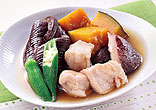 鶏と野菜の冷やし鉢