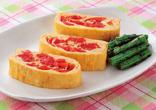 ミニトマトの卵焼き