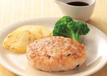 鮭の豆腐ハンバーグ
