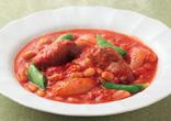 大豆と牛肉のトマト煮