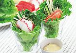 海鮮ロールサラダ