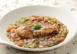 大豆と鶏肉のカレー煮