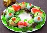 手まり寿司のリース
