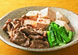 肉豆腐のごま風味