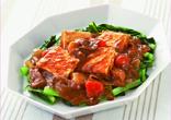 豆腐ステーキのカレーソース