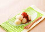 豆腐白玉・きな粉ソース