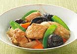 鶏肉のプルーン煮