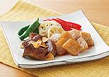 牛肉とこんにゃくのひと口ステーキ