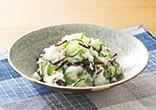 長いもと塩昆布のサラダ