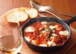 かきとチーズのトマトパッツァ
