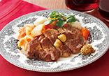 豚肉と根菜のポットロースト