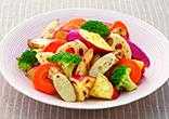 根菜の焼きサラダ