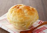 野菜スープのパイ包み