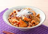 大豆とぶりのピリ辛煮