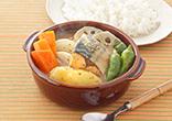 鯖のスープカレー