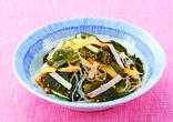新わかめと春雨の中華サラダ