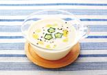 とろり豆腐の冷製スープ