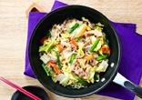 豚肉と白菜の中華蒸し
