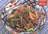 牛肉とれんこんのピリ辛煮