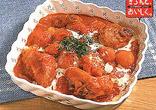 とり肉と栗のトマト煮