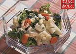 サラダミックスベジタブルのヨーグルトサラダ