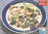 青菜とかきのクリーム煮