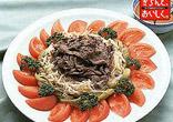 牛しゃぶの中華風サラダ