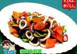 シーフードのサラダ
