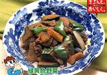夏野菜と牛肉の炒め煮